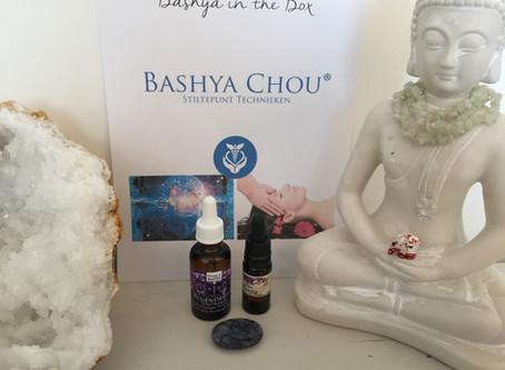 Een heel ontspannende behandeling : Bashya Chou in combinatie met een stress release behandeling.