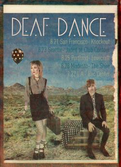 Deaf Dance Tour Poster