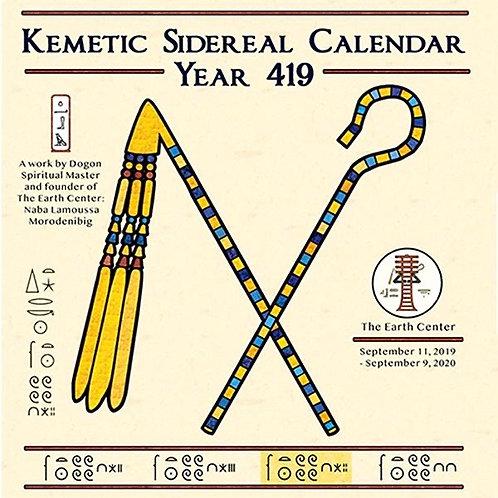 Kemetic Sidereal Calendar 419