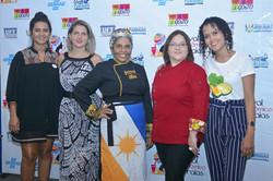 Jurados 2018 - Milena Barros, Tainá Zanetti, Alessandra Santos e Ruth Almeida