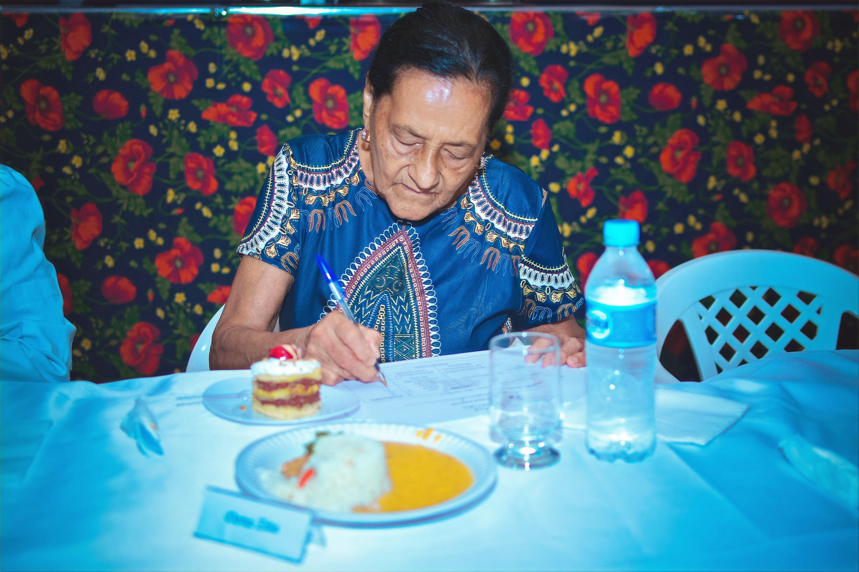 2018, Dona Zita, Jurada convidada especial da comunidade