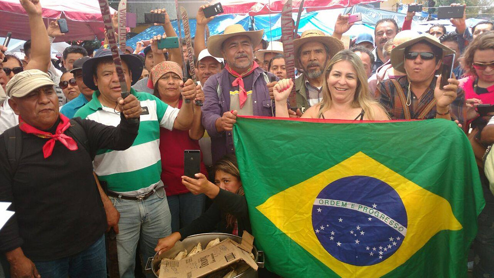 Márcia Viana integra a delegação brasileira em curso de formação sindical sobre Multinacionais na América Latina