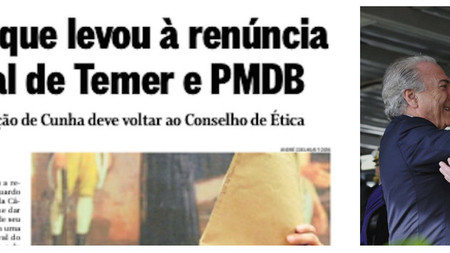 Com acordo Temer-Cunha, é chegada a hora de colocar fim na farsa do Impeachment