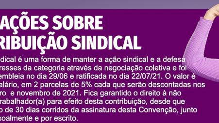 Campanha Salarial 2021: Confira informes sobre a contribuição sindical