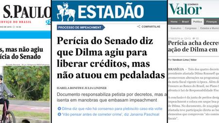 Perícia comprovou que Dilma é inocente. E agora?