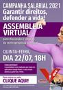 Link de acesso à assembleia da Campanha Salarial