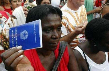 CONSCIÊNCIA: Desemprego entre os negros é maior do que a taxa nacional