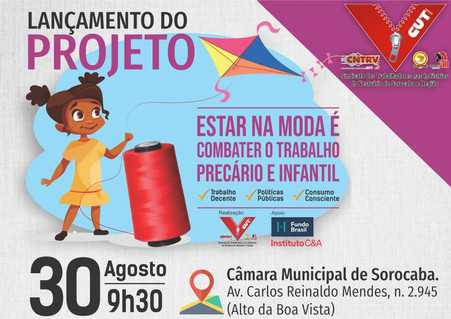 Em Sorocaba, Sindicato dos Trabalhadores no Vestuário iniciará projeto com foco no combate ao trabal