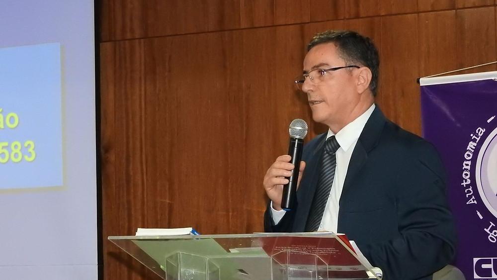 O Dr. João Batista falou da inconstitucionalidade da Lei 13.467/17