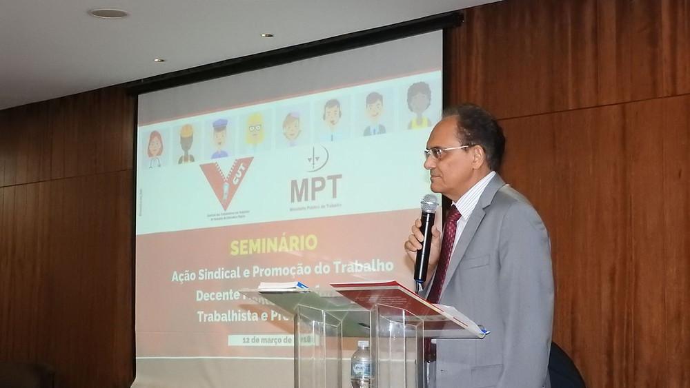 Dr. Raimundo defende o financiamento sindical deliberado em assembleias
