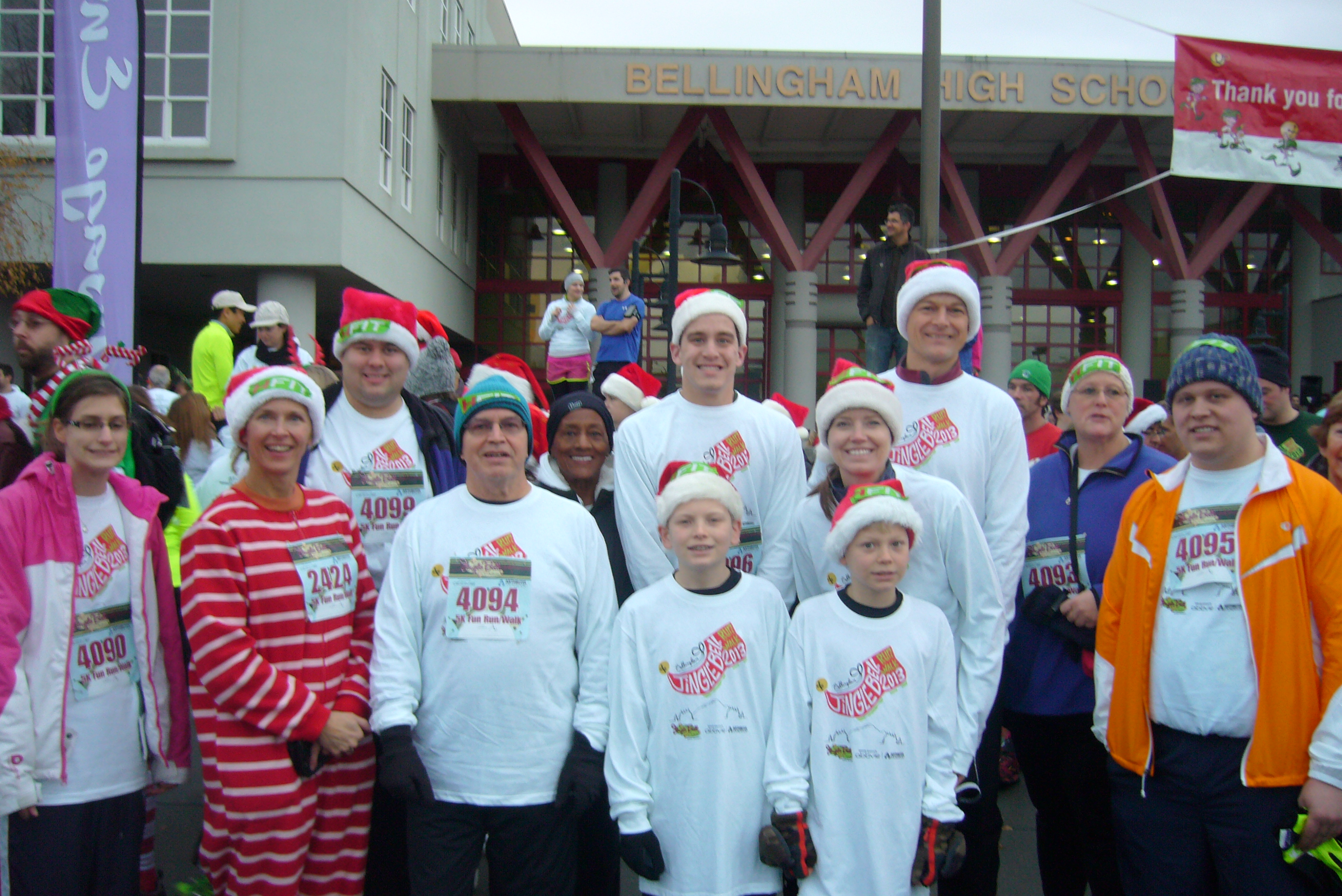 Homestead Striders Jingle Bell Run