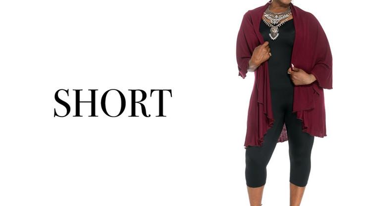 Short Shawl Styling Video