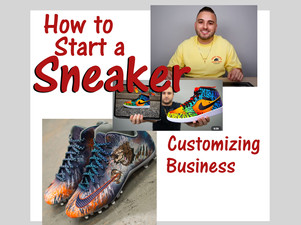 Start a sneaker customizing business