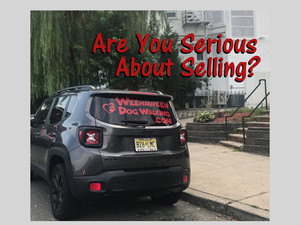Tell everyone that you are selling