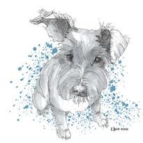 Tiffany's terrier