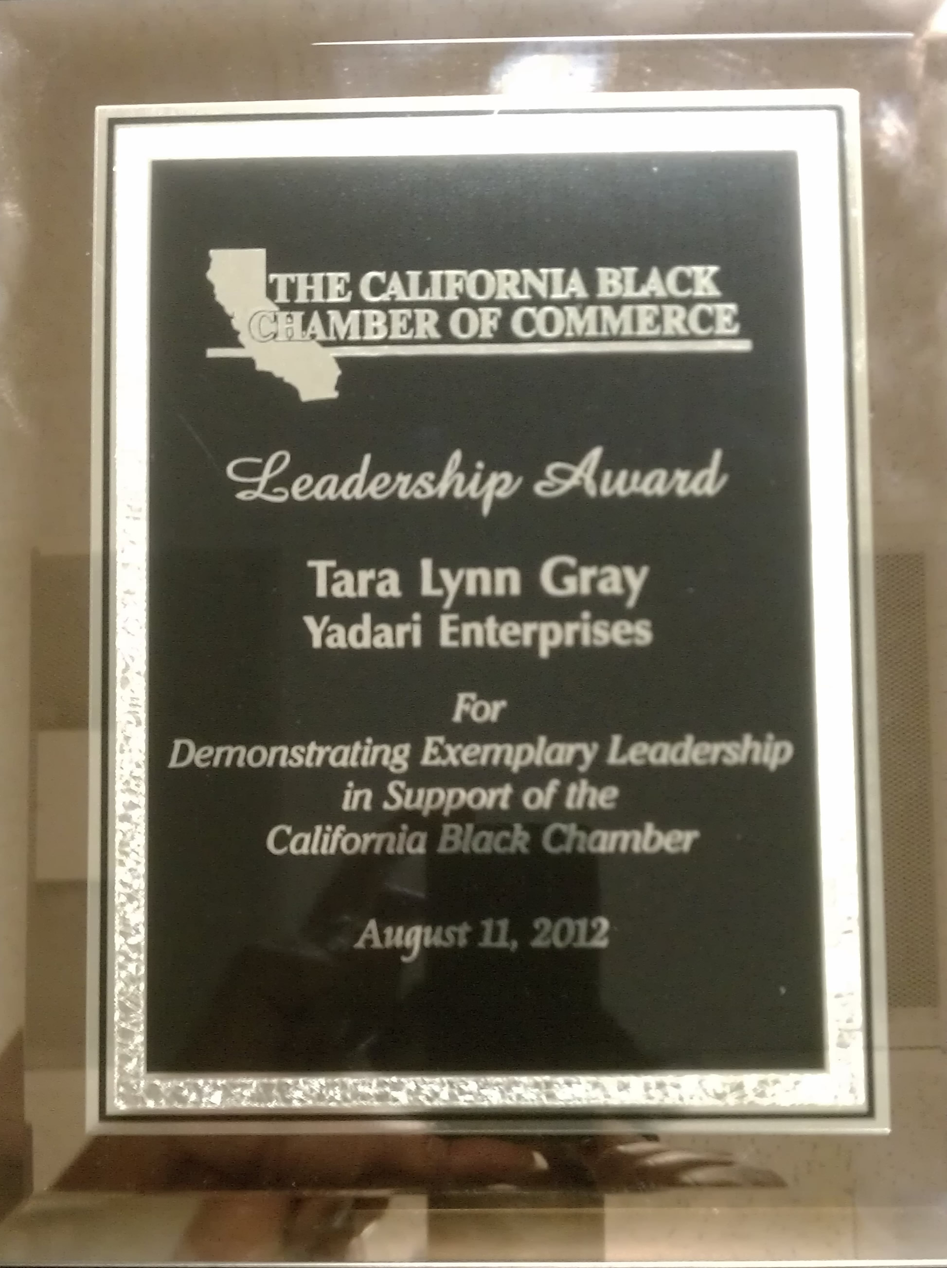 Leadership Award