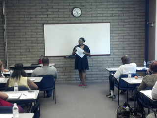 Tara Lynn Gray Graduates the Inaugural Class of the Black Initiative for Self-Sustainability