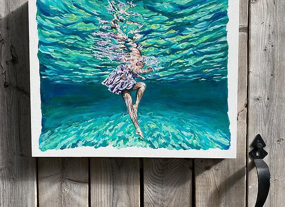 ignite brilliance: dance underwater