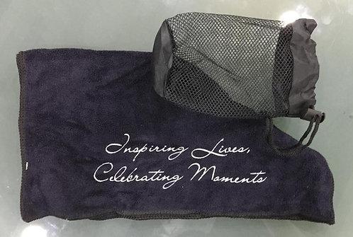 """""""Inspiring Lives, Celebrating Moments"""" Towel"""