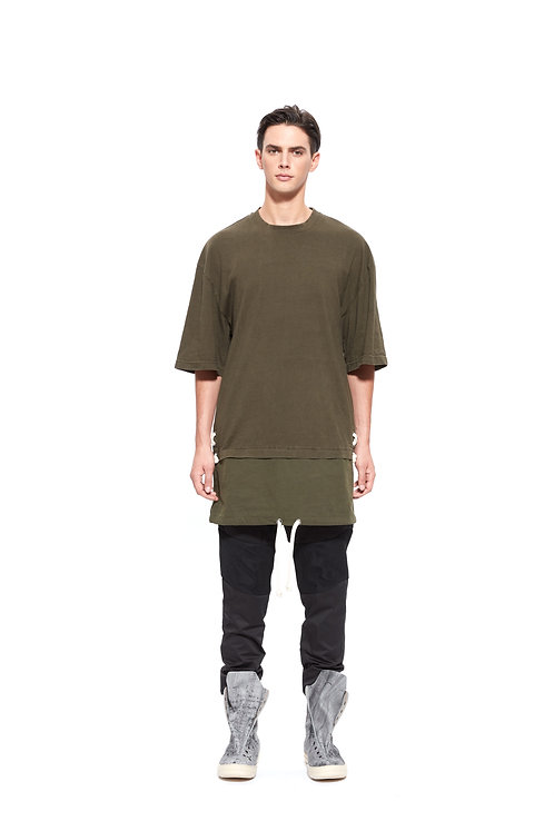 HEAVY WASHED COTTON TEE
