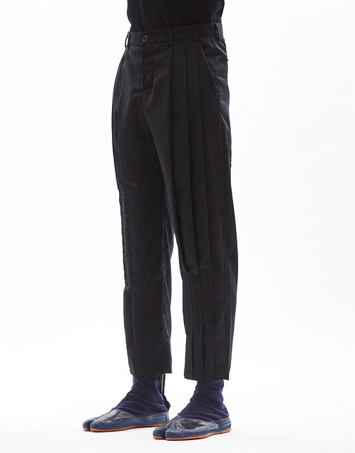 Boro patchwork trousers