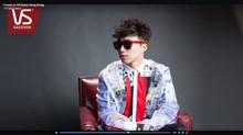 吳業坤 Ng Yip Kwan Kwan Gor look on NECRO POON menswear collection~~ 香港歌手坤哥, 吳業坤穿上 NECRO POON 男裝系列出席 VS