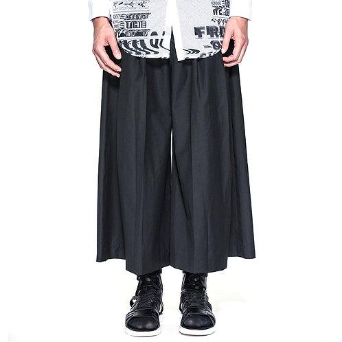 Black Wool Kulot