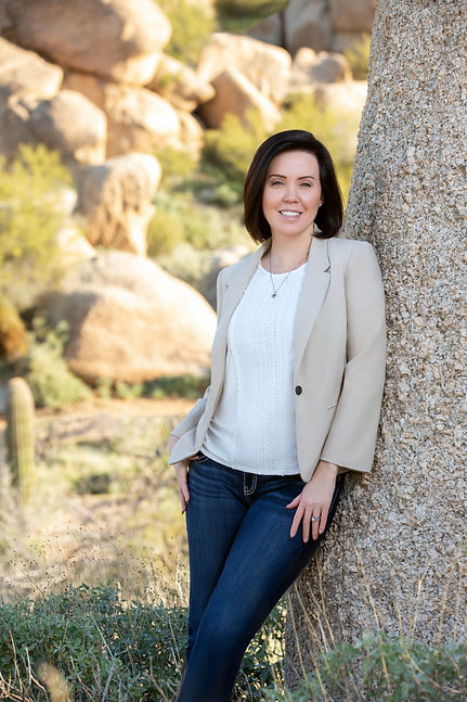 Dawn Mougel, FNP-C, owner of A New Dawn Wellness Center in Scottsdale, AZ