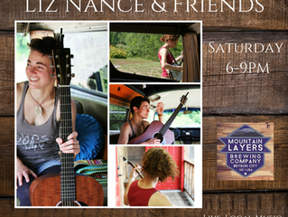 Liz Nance and Friends! 12/16, 6-9pm