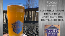 Mountain Layers introduces Brass Button Wheat!
