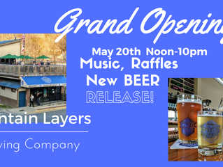 Grand Opening MAY 20th  Noon-10pm