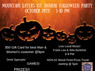 Mountain Layers 1st Annual Halloween Party!