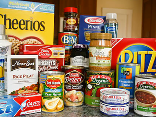 Food Drive Collection for Bryson City Food Pantry