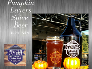 Pumpkin Layers Spice Beer! $3.00 a pint while supplies last!