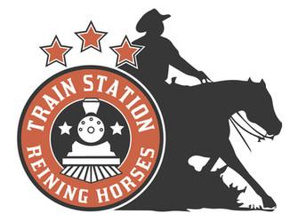 trainstation reining horses