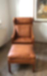 Børge_Mogensen_højrygget_lænestol_i_lys_