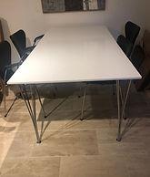 Arne Jacobsen rektangulært spisebord 3.j
