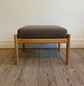 Børge Mogensen skammel til slædestol i e