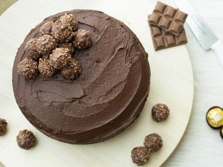 Rich Two-Layer Chocolate Cake