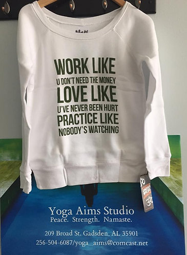 Work, Love, Practice Fleece