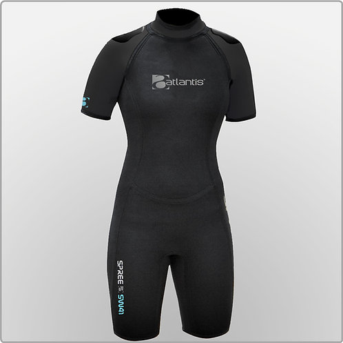 Spring Wetsuit, Womens Shortie