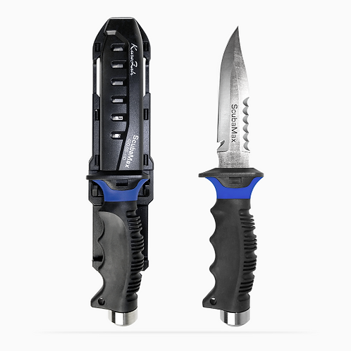 ScubaMax Dive Knife (with sheath)