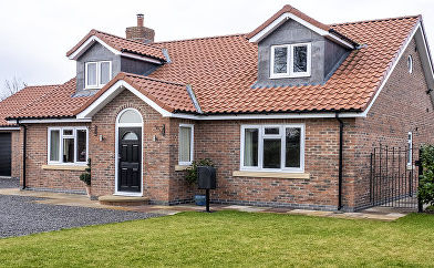 Dormer Bungalow with Windows in Roof Spa