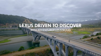LEXUS DRIVEN TO DISCOVER