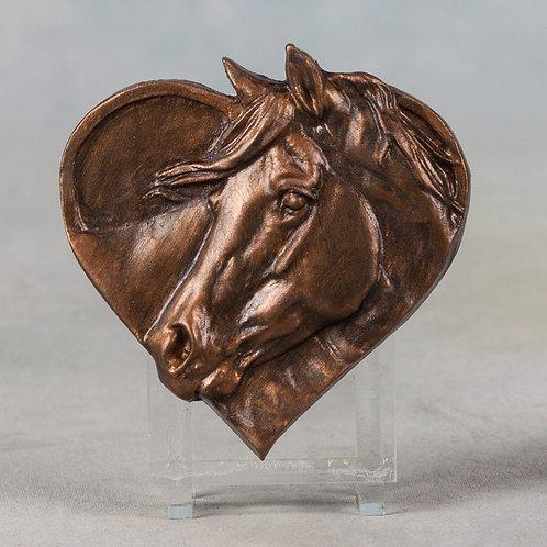 Love, bronze