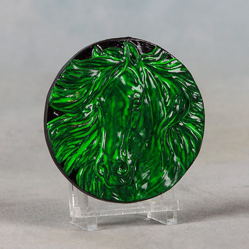 Ruffle, fluoro green