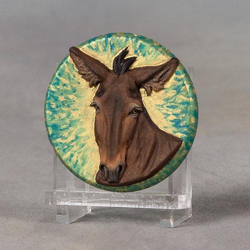 Mini Medallionopoly Mule, brown