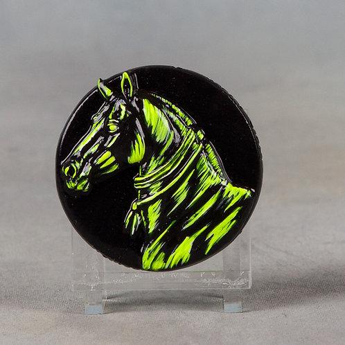 Mini Medallionopoly Teke, fluoro yellow