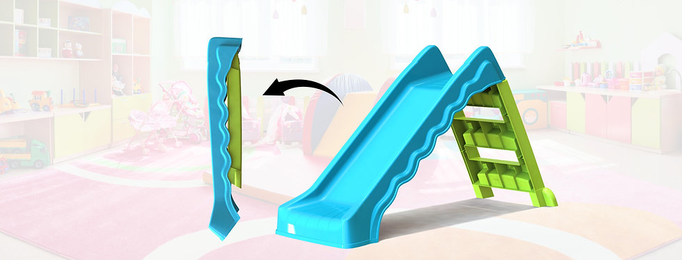 Paradiso starplast palplay playhouse keter kids toys home roof foldable outdoor indoor slide