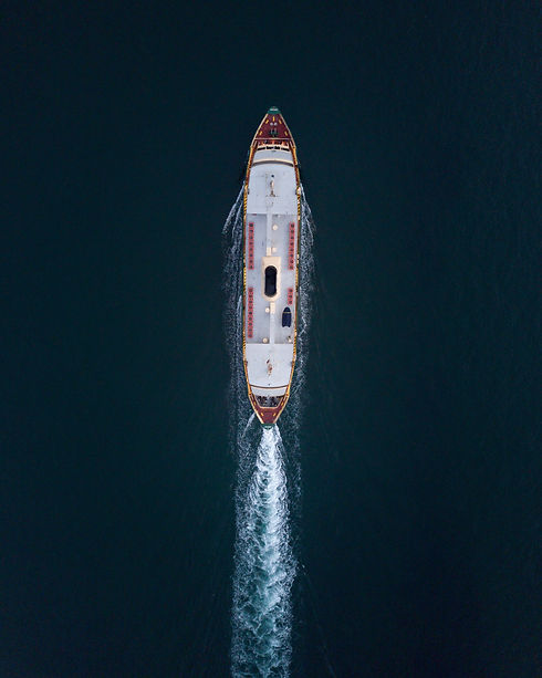 aerial-view-of-ship-on-body-of-water-155